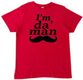 Micro Me Red 'Iâ€TMm Da Man' Tee - Toddler & Boys