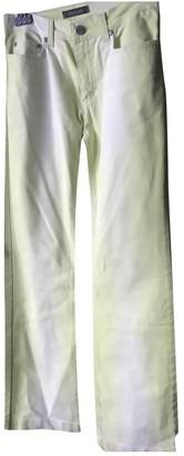 Roberto Cavalli Yellow Denim - Jeans Trousers for Women