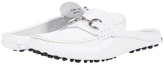 Massimo Matteo Mule Driver with Bit (White) Women's Shoes