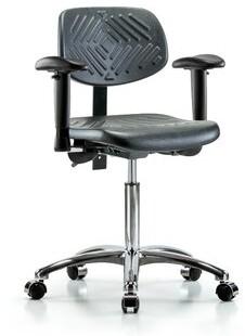 Blue Ridge Ergonomics Task Chair Casters/Glides: Casters, Tilt Function: Included