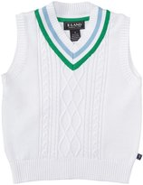 E-Land Kids Tilden Vest (Toddler/Kid) - Parrot Green-3T