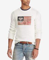Polo Ralph Lauren Men's Crew-Neck Flag Sweater