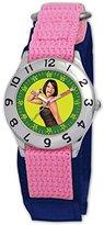 Disney Kids' D055S503 High School Musical Taylor Pink Velcro Watch