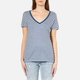 Levi's Women's Perfect VNeck T-Shirt - Willow Dutch Blue