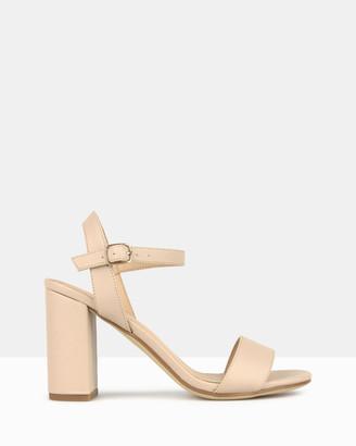 betts Karly Block Heel Sandals
