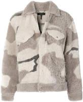 Rag & Bone Jean camouflage print jacket