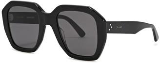 Celine Black Oversized Sunglasses