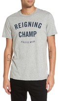 Reigning Champ Men's 'Gym Logo' Graphic T-Shirt