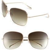 Oliver Peoples Women's Elsie 64Mm Metal Sunglasses - Gold/ Olive Gradient