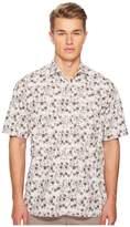 Eleventy Oversized Flower Print Shirt Men's T Shirt