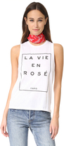 South Parade La Vie En Rose Tank