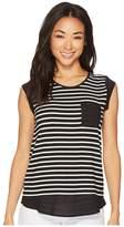 Calvin Klein T-Shirt with One-Pocket Women's T Shirt