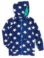 Toddler Boy's Mini Boden Towelling Zip Hoodie