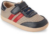 Old Soles Toddler Boys) Grey & Navy Cam Perforated Shoes