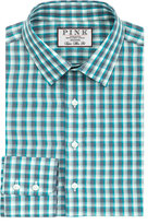 Gerry Check Super Slim Fit Button Cuff Shirt