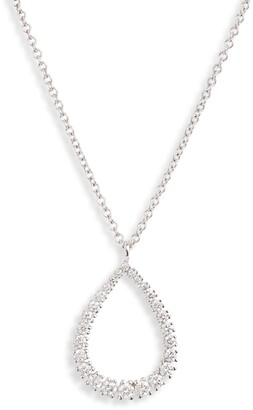 Bony Levy Liora Graduated Diamond Pear Pendant Necklace