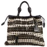 Burberry Ponyhair Big Crush Bag