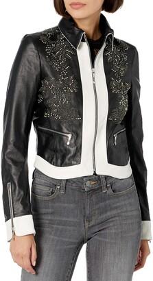 Just Cavalli Womens Leather Jacket