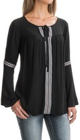 Wrangler Embroidered Blouse - Long Sleeve (For Women)