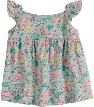 Baby Girl Jumping Beans Babydoll Tank Top