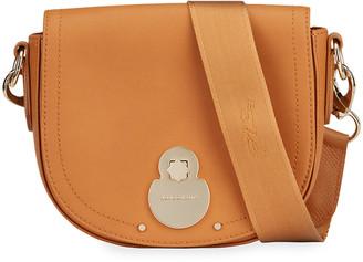 Longchamp Cavalcade Medium Leather Crossbody Bag