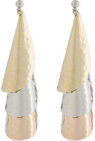J.W.Anderson Layered bell earrings