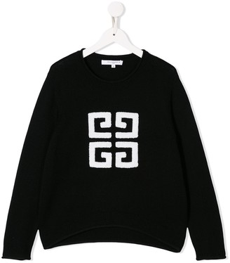 Givenchy Kids Monogram Knitted Jumper