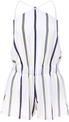 Blonde Gone Rogue Desert Dreams Sustainable Playsuit - White Stripe