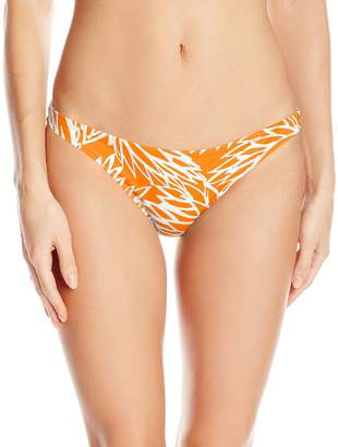 Milly Women's Lotus Print St. Lucia Bikini Bottom