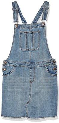Lucky Brand Kids Alexandra Denim Skirtall (Big Kids) (Christi Wash) Girl's Skirt