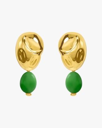 Monica Sordo Oriente Lechuguita Drop Earrings