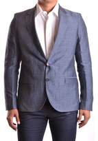 CNC Costume National Men's Grey Linen Suit.