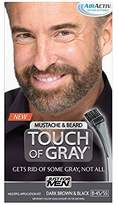 Just For Men Touch of Gray Mustache and Beard Brush-In Color
