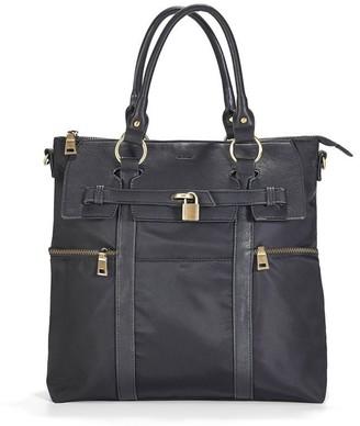 Newlie Louise Backpack Diaper Bag Black
