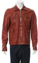 Dolce & Gabbana Distressed Leather Jacket