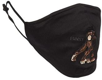 Goorin Brothers Animal Farm Silly Monkey Face Mask (Black) Scarves