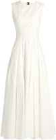 Roksanda Forehill sleeveless flared midi dress
