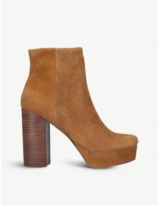 Steve Madden Gratify suede heeled ankle boots