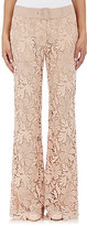 Alberta Ferretti WOMEN'S FLORAL LACE TROUSERS-BEIGE, NO COLOR SIZE 42 IT