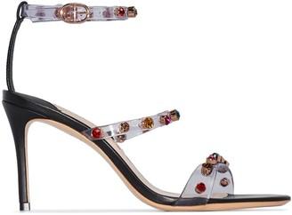 Sophia Webster Rosalind 85mm embellished sandals