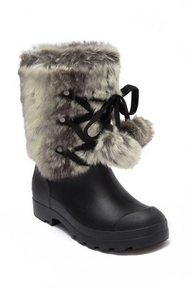 Chinese Laundry Polar Cap Faux Fur All Weather Duck Boot