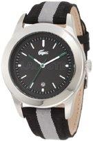 Lacoste Men's 2010613 Advantage Grey Grosgrain Watch