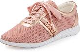Cole Haan Bria Grand Sport Oxford Sneaker, Pink Metallic