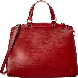 Louis Vuitton Red Epi Leather Brea Mm