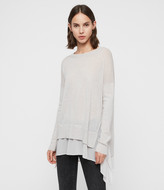 AllSaints Libby Crew Neck Sweater