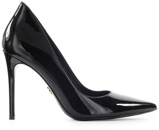 Michael Kors Keke Black Patent Leather Pump