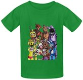 B.IDEAR Generic Five Nights at Freddy's Printed Summer T-Shirt Tops for Kids Boy Girl