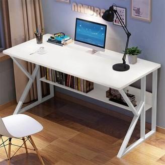 "Inbox Zero Computer Desk Size: 29""H x 47""W x 24""D"
