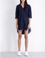 Miharayasuhiro Draped denim dress