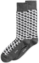 Alfani Men's Geodesic Grid Socks, Only at Macy's